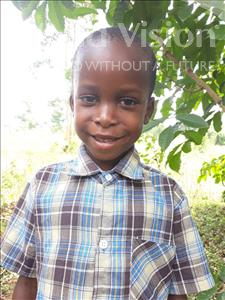 Choose a child to sponsor, like this little boy from Busitema, Roman age 7
