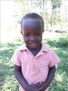 Choose a child to sponsor, like this little girl from Busitema, Tracy age 4