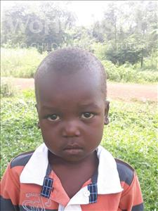 Jimmy, aged 4, from Uganda, is hoping for a World Vision sponsor