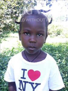 Choose a child to sponsor, like this little girl from Busitema, Majeri age 4