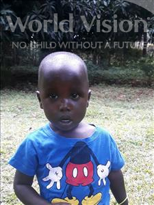 Choose a child to sponsor, like this little boy from Busitema, Joriamo age 2
