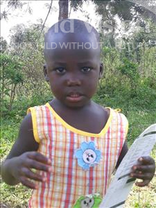 Choose a child to sponsor, like this little girl from Busitema, Jazmine age 2