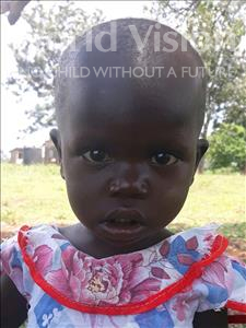 Choose a child to sponsor, like this little girl from Busitema, Joan age 1