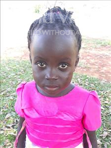 Choose a child to sponsor, like this little girl from Busitema, Lilian age 5