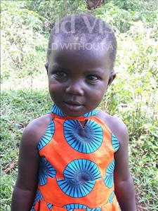 Choose a child to sponsor, like this little girl from Busitema, Rehemah age 3