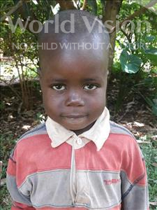 Choose a child to sponsor, like this little boy from Busitema, Paul age 4