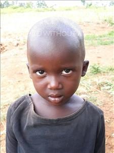 Shaniz, aged 3, from Uganda, is hoping for a World Vision sponsor