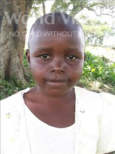 Choose a child to sponsor, like this little girl from Busitema, Venisha age 5