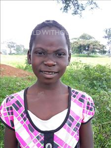Choose a child to sponsor, like this little girl from Busitema, Mercy age 6