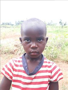 Choose a child to sponsor, like this little girl from Busitema, Nambozo age 4