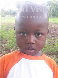 Choose a child to sponsor, like this little boy from Busitema, Frank age 3