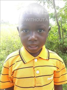 Choose a child to sponsor, like this little boy from Busitema, Arocha age 4