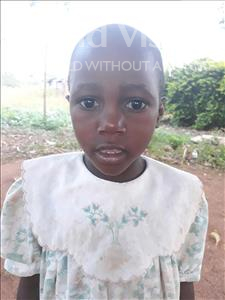 Choose a child to sponsor, like this little girl from Busitema, Resty age 6