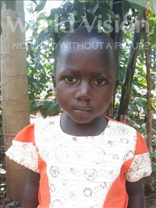 Choose a child to sponsor, like this little girl from Busitema, Miriam Selestine age 3