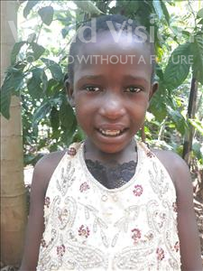 Choose a child to sponsor, like this little girl from Busitema, Nemah age 6