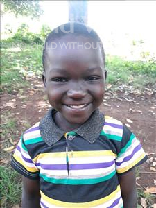 Choose a child to sponsor, like this little boy from Busitema, Jackson age 5