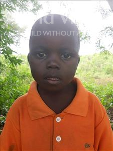 Choose a child to sponsor, like this little boy from Busitema, Sande age 3