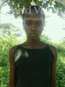 Choose a child to sponsor, like this little girl from Ntwetwe, Getrude age 12