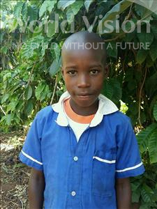Choose a child to sponsor, like this little boy from Ntwetwe, Coline age 10
