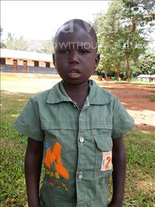 Choose a child to sponsor, like this little boy from Ntwetwe, Edward age 6