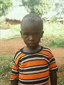 Choose a child to sponsor, like this little boy from Ntwetwe, Jackson age 4