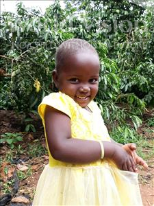 Choose a child to sponsor, like this little girl from Ntwetwe, Vanesa age 3