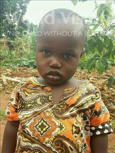 Choose a child to sponsor, like this little boy from Ntwetwe, David age 2