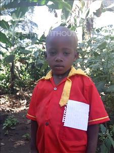 Kevin, aged 4, from Uganda, is hoping for a World Vision sponsor