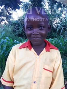 Paul, aged 6, from Uganda, is hoping for a World Vision sponsor