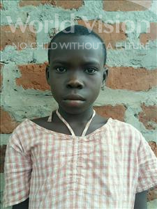 Choose a child to sponsor, like this little girl from Ntwetwe, Elizabeth age 7