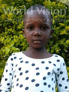 Choose a child to sponsor, like this little girl from Ntwetwe, Jackline age 4
