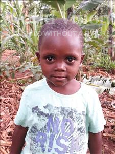 Choose a child to sponsor, like this little girl from Ntwetwe, Shalifah age 3