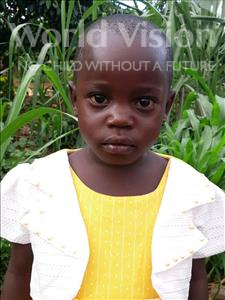 Choose a child to sponsor, like this little girl from Ntwetwe, Racheal age 3