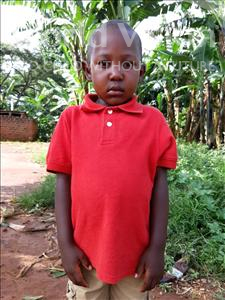 Choose a child to sponsor, like this little boy from Ntwetwe, Lorence age 5