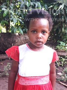Choose a child to sponsor, like this little girl from Ntwetwe, Mariam age 3