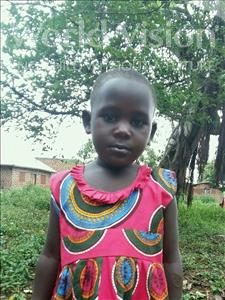 Choose a child to sponsor, like this little girl from Ntwetwe, Catherine age 4