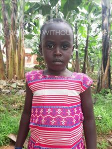 Choose a child to sponsor, like this little girl from Ntwetwe, Joyce age 5
