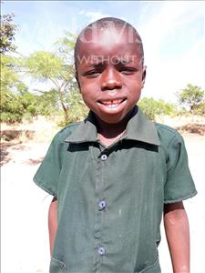 Choose a child to sponsor, like this little boy from Keembe, Jonathan age 8