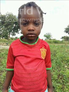 Choose a child to sponsor, like this little girl from Keembe, Ndeiiwe age 5
