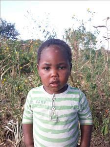 Choose a child to sponsor, like this little girl from Keembe, Rosmary age 4