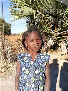 Choose a child to sponsor, like this little girl from Keembe, Eterinah age 5
