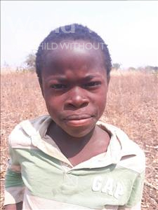 Choose a child to sponsor, like this little boy from Keembe, Innocent age 9