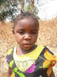 Peditor, aged 3, from Zambia, is hoping for a World Vision sponsor