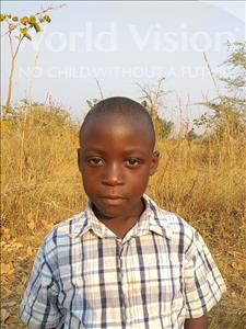 Choose a child to sponsor, like this little boy from Keembe, Emmison age 6