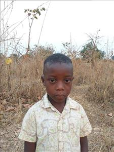 Choose a child to sponsor, like this little boy from Keembe, Phisewell age 5