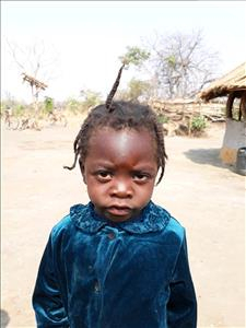Choose a child to sponsor, like this little girl from Keembe, Eva age 3