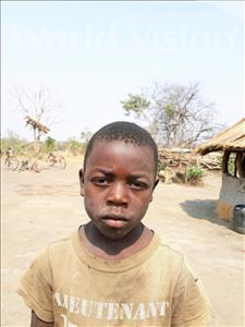 Choose a child to sponsor, like this little boy from Keembe, Emmanuel age 6