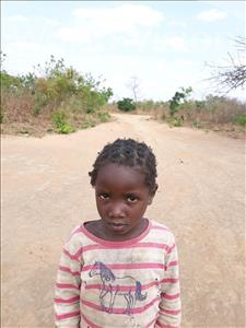 Choose a child to sponsor, like this little girl from Keembe, Eva age 4