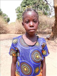 Choose a child to sponsor, like this little girl from Keembe, Jackrine age 9