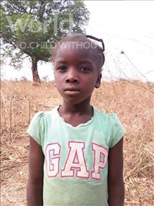 Choose a child to sponsor, like this little girl from Keembe, Royce age 6